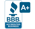DreamMaker Bath & Kitchen Better Business Bureau A+ Rating