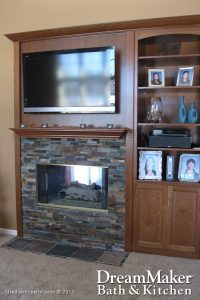 Entertainment Center Renovation