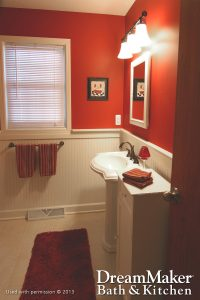 Renovating Standard Size Bathrooms