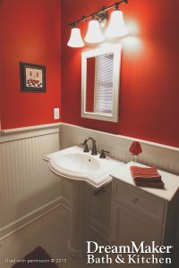 Standard Size Bathroom Renovation
