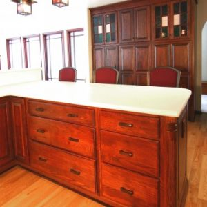 Traditional Wood Kitchen Cabinets in Louisville, GA