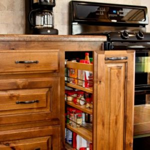 Custom Made Traditional Kitchen Cabinets