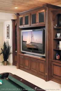 Home Entertainment Cabinet Installation