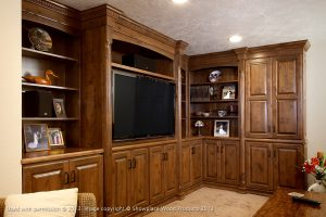 Cabinet Installation for Home Entertainment Center