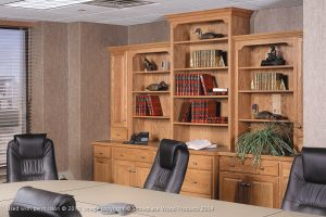 Home Office Remodeling with Built-in Bookshelves