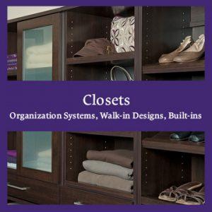 Closet Organization Systems
