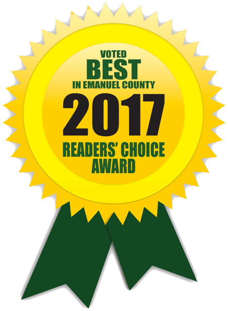 DreamMaker Bath & Kitchen Emmanuel County Readers Choice 2017 Award
