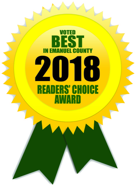 DreamMaker Bath & Kitchen Emmanuel County Readers Choice 2018 Award