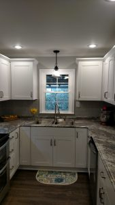 Galley kitchen remodel in Collins, Georgia
