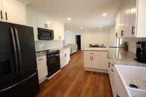 Beautiful open concept white kitchen in Soperton, Georgia