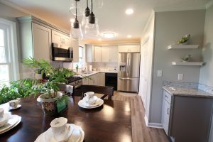 Open kitchen dining room concept, Swainsboro, GA