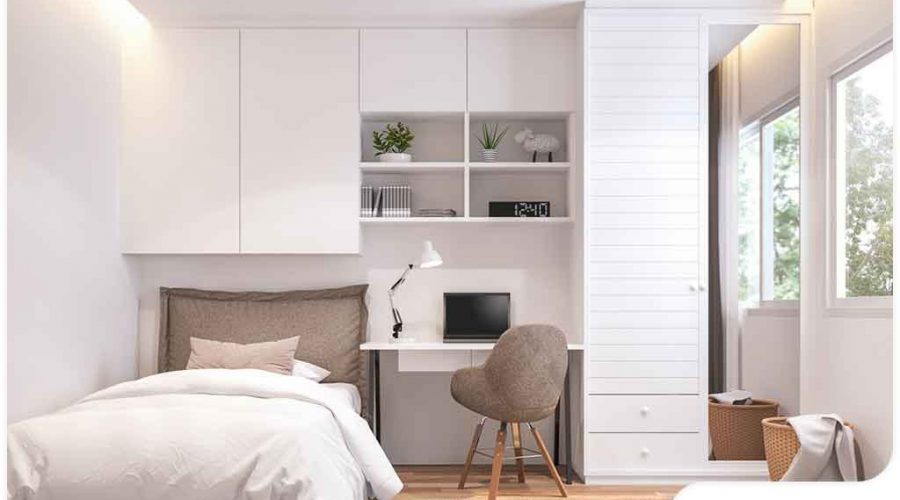 4 rules for designing a small bedroom | remodeling tips