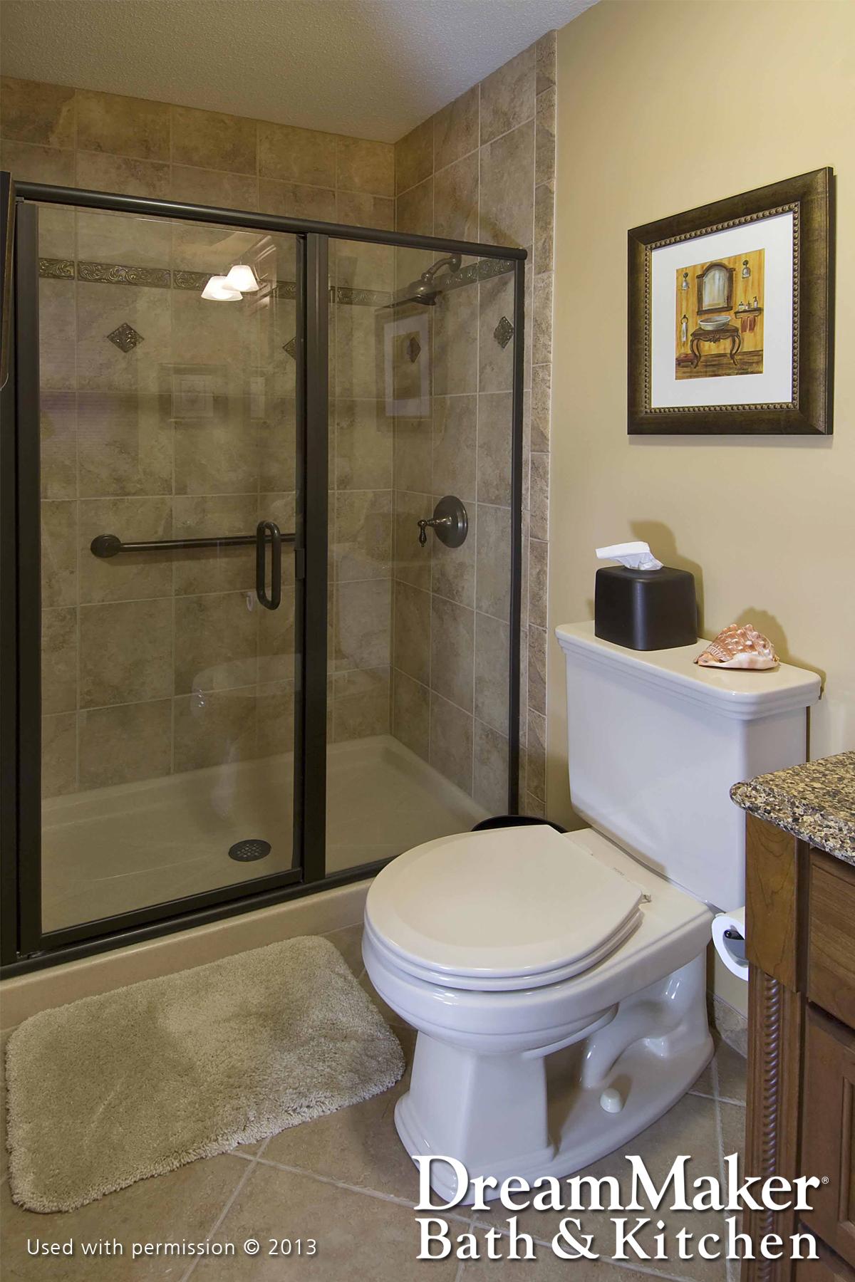 Standard Baths & Powder Rooms Gallery | DreamMaker Bath & Kitchen of ...