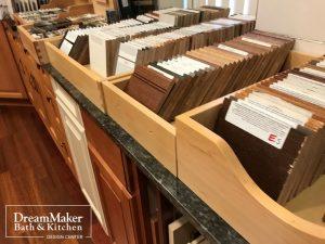 DreamMaker Design Center Cabinet Samples