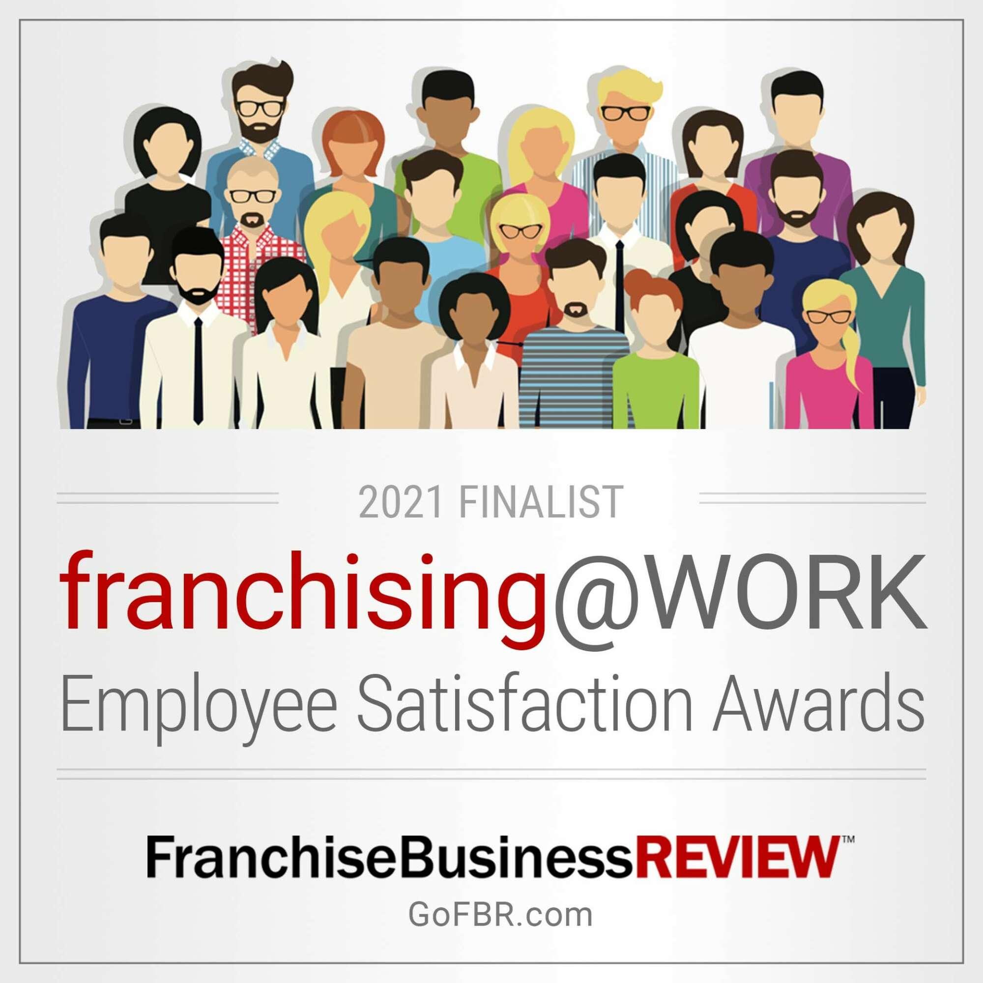 Franchising@WORK Award - 2021 Finalist